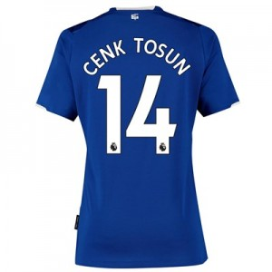 Everton Home Shirt 2019-20 - Womens with Cenk Tosun 14 printing