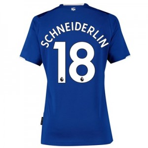 Everton Home Shirt 2019-20 - Womens with Schneiderlin 18 printing