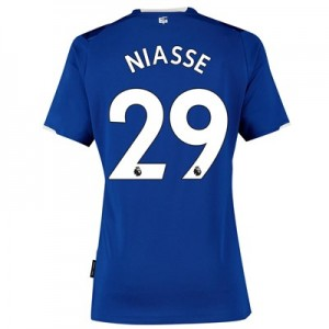 Everton Home Shirt 2019-20 - Womens with Niasse 29 printing
