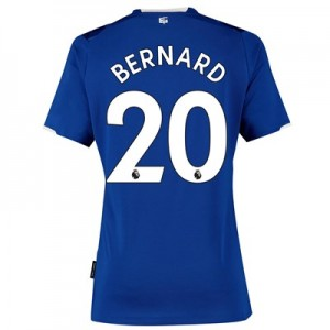 Everton Home Shirt 2019-20 - Womens with Bernard 20 printing