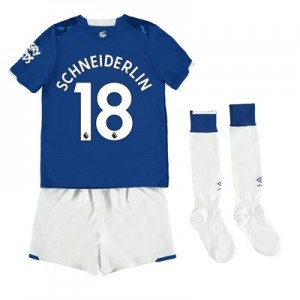 Everton Home Infant Kit 2019-20 with Schneiderlin 18 printing
