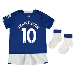 Everton Home Baby Kit 2019-20 with Sigurdsson 10 printing