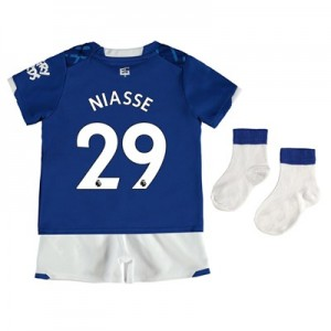 Everton Home Baby Kit 2019-20 with Niasse 29 printing