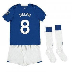 Everton Home Infant Kit 2019-20 with Delph 8 printing