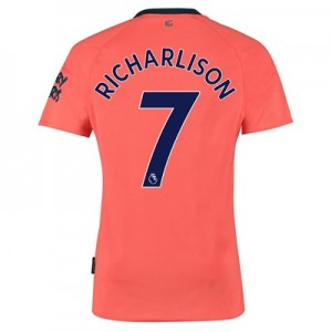 Everton Away Shirt 2019-20 with Richarlison 7 printing