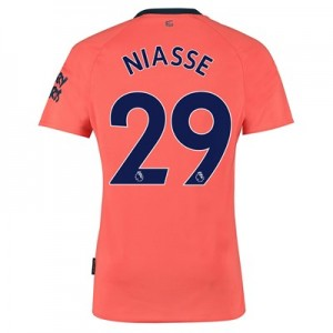 Everton Away Shirt 2019-20 with Niasse 29 printing