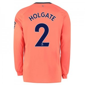 Everton Away Shirt 2019-20 - Long Sleeve with Holgate 2 printing