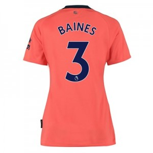 Everton Away Shirt 2019-20 - Womens with Baines 3 printing