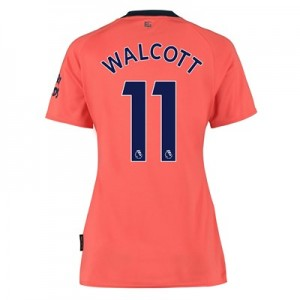 Everton Away Shirt 2019-20 - Womens with Walcott 11 printing