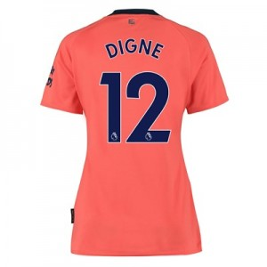 Everton Away Shirt 2019-20 - Womens with Digne 12 printing
