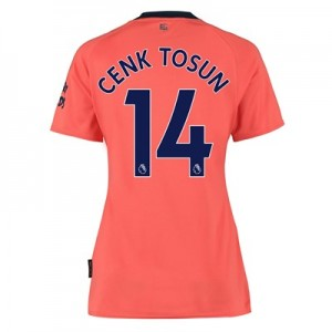 Everton Away Shirt 2019-20 - Womens with Cenk Tosun 14 printing