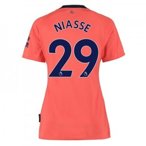 Everton Away Shirt 2019-20 - Womens with Niasse 29 printing