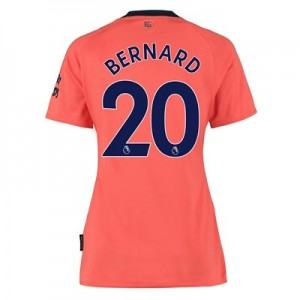 Everton Away Shirt 2019-20 - Womens with Bernard 20 printing