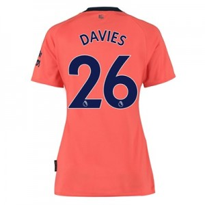 Everton Away Shirt 2019-20 - Womens with Davies 26 printing