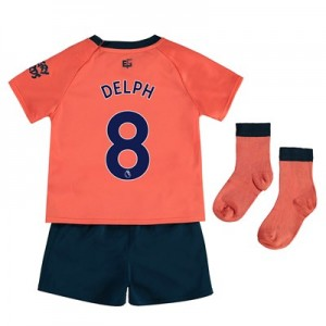 Everton Away Baby Kit 2019-20 with Delph 8 printing