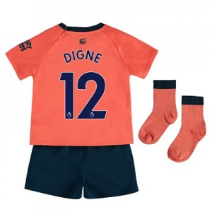 Everton Away Baby Kit 2019-20 with Digne 12 printing