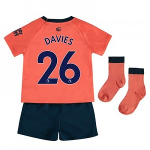 Everton Away Baby Kit 2019-20 with Davies 26 printing