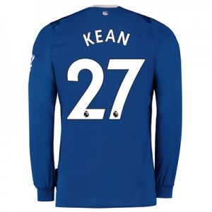 Everton Home Shirt 2019-20 - Long Sleeve with Kean  27 printing