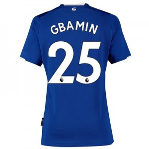 Everton Home Shirt 2019-20 - Womens with Gbamin 25 printing