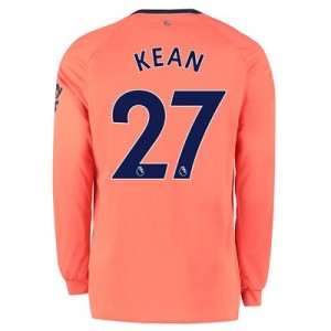 Everton Away Shirt 2019-20 - Long Sleeve with Kean  27 printing