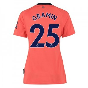 Everton Away Shirt 2019-20 - Womens with Gbamin 25 printing