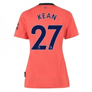 Everton Away Shirt 2019-20 - Womens with Kean  27 printing