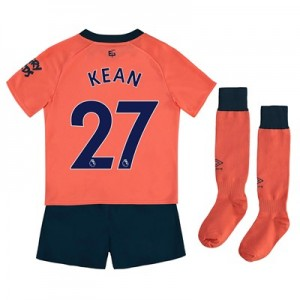 Everton Away Infant Kit 2019-20 with Kean  27 printing
