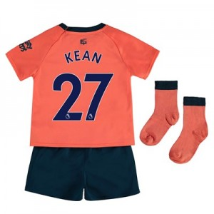 Everton Away Baby Kit 2019-20 with Kean  27 printing