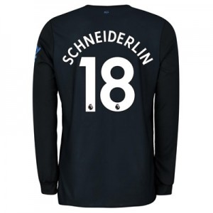 Everton Third Shirt 2019-20 - Long Sleeve with Schneiderlin 18 printing
