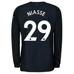 Everton Third Shirt 2019-20 - Long Sleeve with Niasse 29 printing
