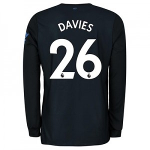 Everton Third Shirt 2019-20 - Long Sleeve with Davies 26 printing