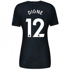 Everton Third Shirt 2019-20 - Womens with Digne 12 printing