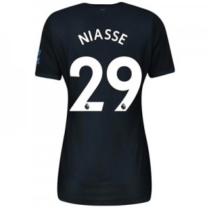 Everton Third Shirt 2019-20 - Womens with Niasse 29 printing