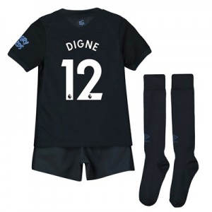 Everton Third Infant Kit 2019-20 with Digne 12 printing