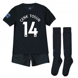 Everton Third Infant Kit 2019-20 with Cenk Tosun 14 printing