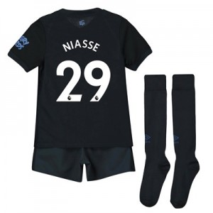 Everton Third Infant Kit 2019-20 with Niasse 29 printing