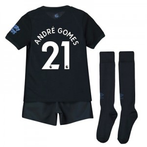 Everton Third Infant Kit 2019-20 with André Gomes 21 printing