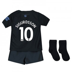 Everton Third Baby Kit 2019-20 with Sigurdsson 10 printing