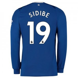 Everton Home Shirt 2019-20 - Kids - Long Sleeve with Sidibe 19 printing