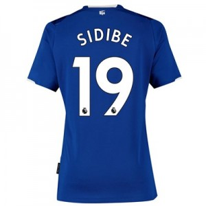 Everton Home Shirt 2019-20 - Womens with Sidibe 19 printing