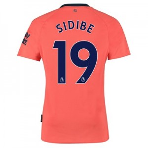 Everton Away Shirt 2019-20 with Sidibe 19 printing