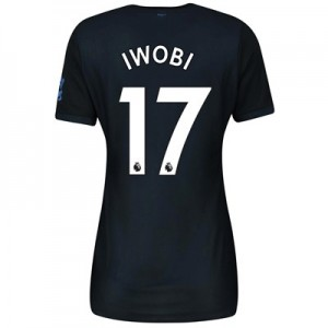Everton Third Shirt 2019-20 - Womens with Iwobi 17 printing