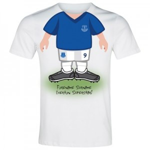 Everton Personalised Use Your Head T-Shirt - Junior