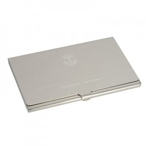 Everton Personalised Business Card Holder