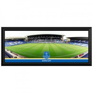 Everton Empty Stadium Stripe Panoramic 30 Inch