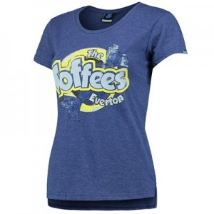 Everton The Toffees T-Shirt - Royal Marl - Womens