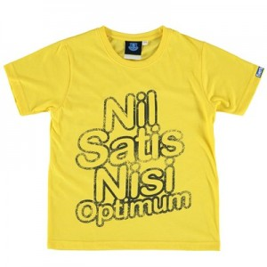 Everton Nil Satis T-Shirt - Yellow - Junior