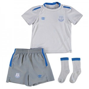 Everton Away Baby Kit 2017/18