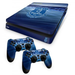 Everton PS4 Slim Controller and Console Skin Set