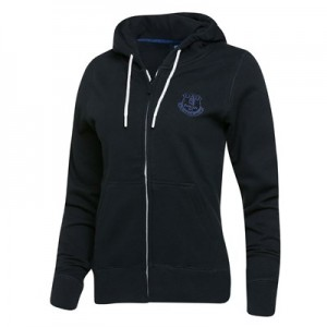 Everton Essential Full Zip Hoodie - Navy - Womens